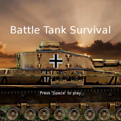 Battle Tank Survival (Lua/Löve2D)